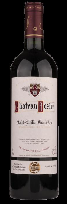 Chateau Rozier Saint Emilion Grand Cru