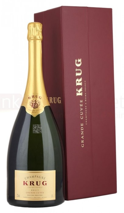 Krug Grande Cuvee Champagne in Coffert