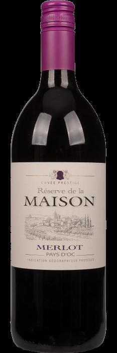 Reserve de la Maison Merlot Vin de Pays d'Oc