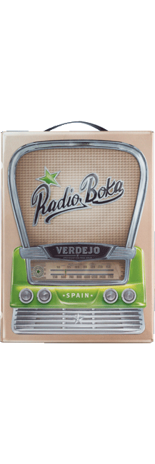 RADIO BOKA WIT BIB 3 LTR-0